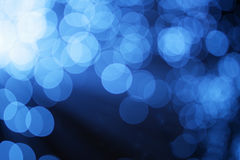 Abstract blue light Royalty Free Stock Photo