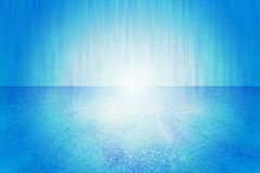 Abstract blue Light background Stock Images