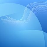 Abstract blue light  background Royalty Free Stock Photos