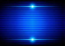 Abstract blue light background. illustration  design Stock Images