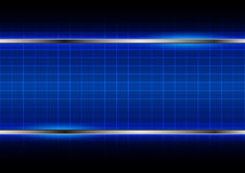 Abstract blue light  background  Royalty Free Stock Photography