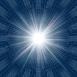 Abstract blue light Royalty Free Stock Photography