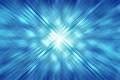 Abstract blue light effect background Stock Image