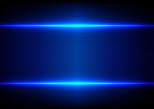 Abstract blue light effect background Stock Images