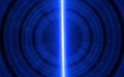 Abstract blue light effect concept background.Abstract blue flare ripple. Background royalty free illustration