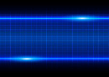 Abstract blue light effect with table background Royalty Free Stock Photos