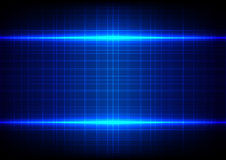 Abstract blue light effect table pattern background Royalty Free Stock Images