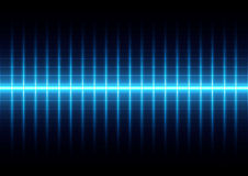 Abstract blue light on grid background,illustration  desig Royalty Free Stock Image