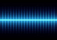 Abstract blue light on grid background,illustration  desig. N Royalty Free Stock Image