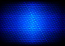 Abstract blue light grid. Vector illustration. Royalty Free Stock Image