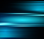 Abstract blue light shiny background Royalty Free Stock Image