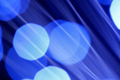 Abstract blue light source Royalty Free Stock Photos