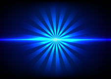 Abstract blue light sunlight effect background Royalty Free Stock Image