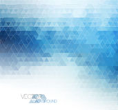 Abstract blue light template background Stock Image