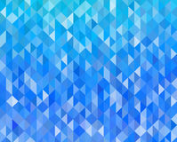 Abstract blue light template background Stock Photography
