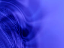 Abstract blue light waves Stock Images