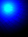 Abstract blue lighting, magic light concept, Royalty Free Stock Photos