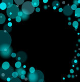 Abstract Blue Lights Background Stock Images