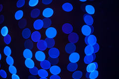 Abstract blue lights background Royalty Free Stock Photos