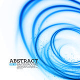 Abstract Blue Lights Effect Background. Vector Stock Photos