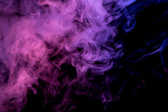 Abstract blue lilac smoke Weipa Royalty Free Stock Image