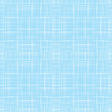 Abstract blue line retro fabric textile textured seamless pattern background Royalty Free Stock Images