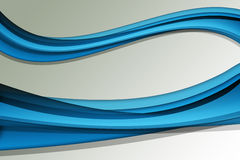 Abstract Blue Lines Royalty Free Stock Images