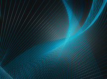 Abstract blue lines Stock Photos