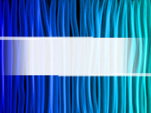 Abstract Blue Lines Background. With copyspace Royalty Free Stock Photography