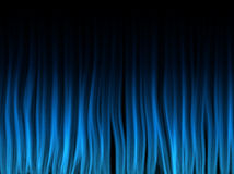 Abstract Blue Lines Background. Abstract Blue Lines on Black Background Stock Photo