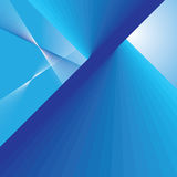 Abstract blue lines background Royalty Free Stock Photo