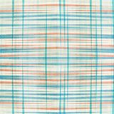 Abstract blue lines seamless pattern Stock Photo