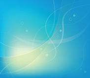 Abstract blue Lines Vector Background Stock Photo
