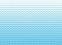 Abstract blue lines wave, Wavy stripes pattern, Rough surface. Vector Illustration Stock Photo