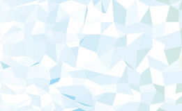 Abstract blue low poly pattern background Stock Photo