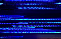 Abstract blue luminous lines background Stock Image