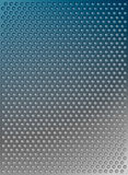 Abstract  blue metal background Royalty Free Stock Images