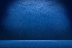 Abstract blue metal background texture Royalty Free Stock Images
