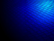 Abstract blue metallic surface, construction, Stock Images