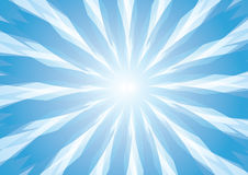 Abstract blue modern shape background Royalty Free Stock Photography