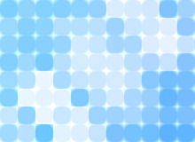 Abstract blue mosaic stock photography