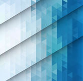 Abstract blue mosaic background Royalty Free Stock Photography
