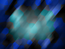 Abstract blue mosaic Stock Image