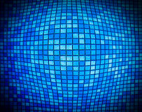 Free Abstract Blue Mosaic With The Effect Of Of Inflating Squares Royalty Free Stock Photography - 98233157
