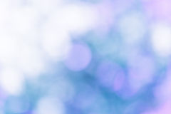 Abstract blue natural bokeh blur background Stock Image