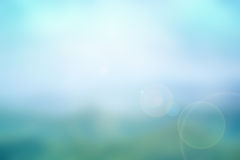 Abstract blue nature blurred background Royalty Free Stock Image
