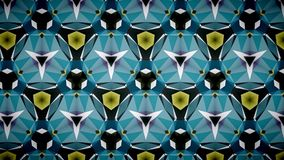 Abstract blue orange color pattern wallpaper Royalty Free Stock Images