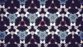Abstract blue orange white color pattern wallpaper Royalty Free Stock Photography