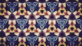 Abstract blue orange white color pattern wallpaper Stock Images