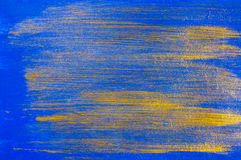 Abstract blue paint background Stock Photography